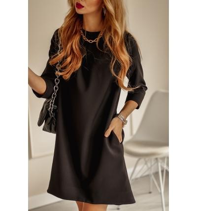 Платье Колин черный