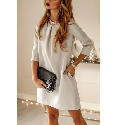 Платье Колин Серый