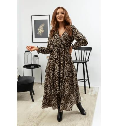 Sukienka falbany wzór4