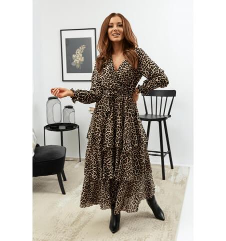 Frill dress pattern 4