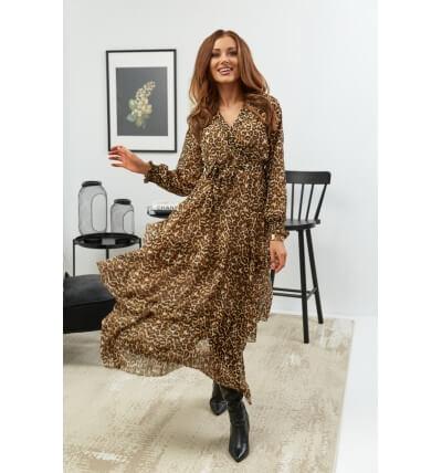 Sukienka falbany wzór3