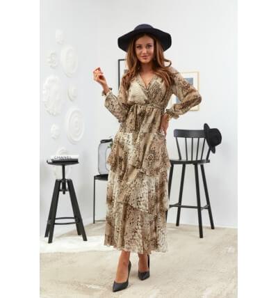 Платье оборка Вариант 5