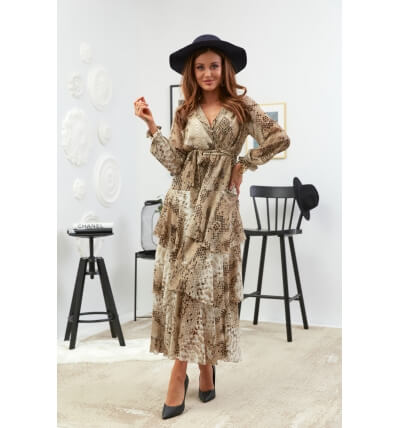 Sukienka falbany wzór5