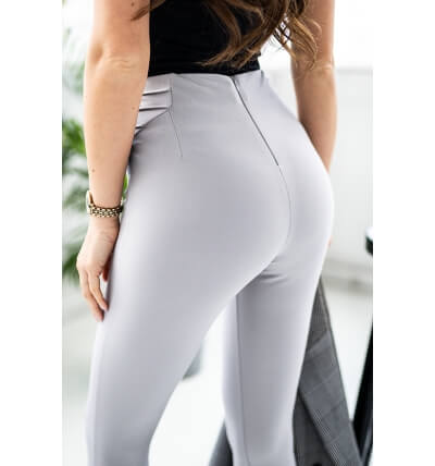 High leggings pants gray